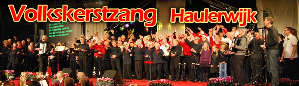 Volkskerstzang Haulerwijk
